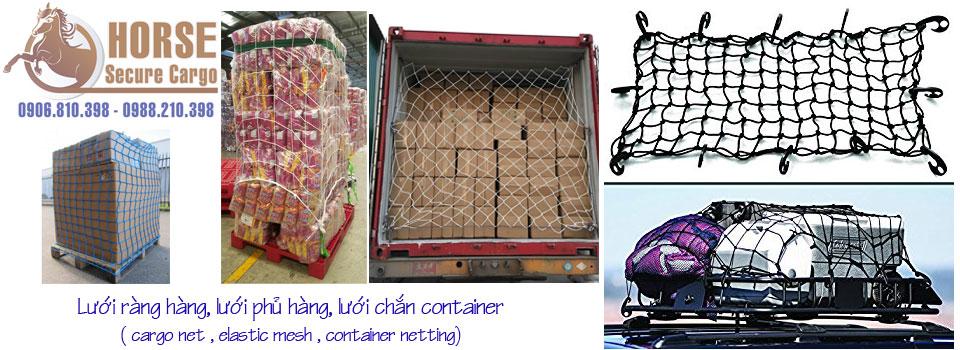 Lưới chắn container, lưới ràng hàng