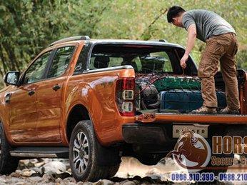 Dây tăng đơ và cách để đồ an toàn trên thùng xe bán tải