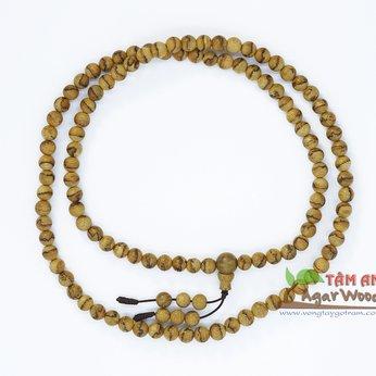 Vòng cổ gỗ trầm hương VCKL11