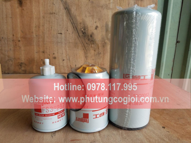 Lọc bảo dưỡng máy xúc lật zl50cn