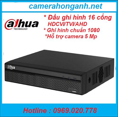 Đầu ghi hình HDCVI/TVI/AHD và camera IP 16 kênh DAHUA XVR4116HS