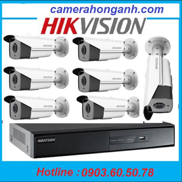 Trọn bộ 7 camera