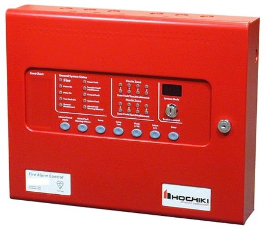 Tủ điều khiển báo cháy trung tâm HOCHIKI HCV-8