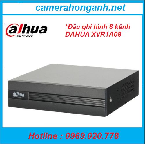 Đầu ghi hình  8 kênh DAHUA XVR1A08