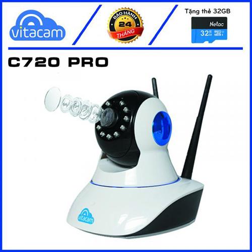 Camera wifi 2.0 Vitacam C720 Pro
