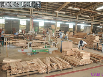 Công trình lắp đặt camera tại công ty CHENG CHIA WOOD ( Phú Chánh- Tân Uyên)