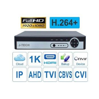 Đầu ghi hình camera AHD/TVI/CBVS/IP 4 kênh J-TECH UHY6104