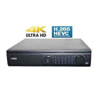 Đầu ghi hình camera IP 64 kênh Ultra HD 4K J-TECH HD6164