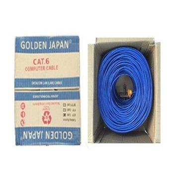 CÁP MẠNG GOLDEN JAPAN 4pair Cat 6e FTP