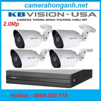 Trọn bộ 4 camera