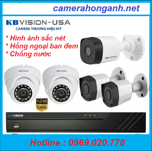 Trọn bộ 5 camera