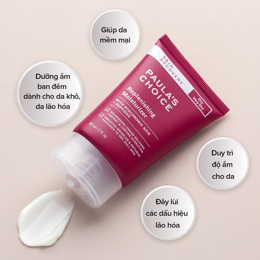 Kem Dưỡng Ẩm Ban Đêm Dịu Nhẹ Skin Recovery Replenishing Moisturizer