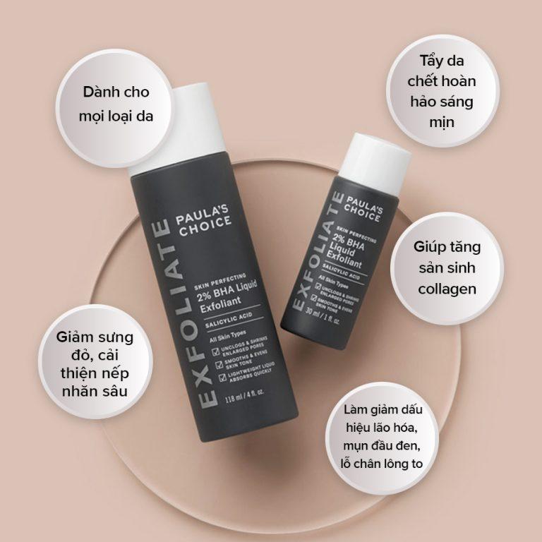 Dung Dịch Loại Bỏ Tế Bào Chết 2% BHA Skin Perfecting 2% BHA Liquid Exfoliant