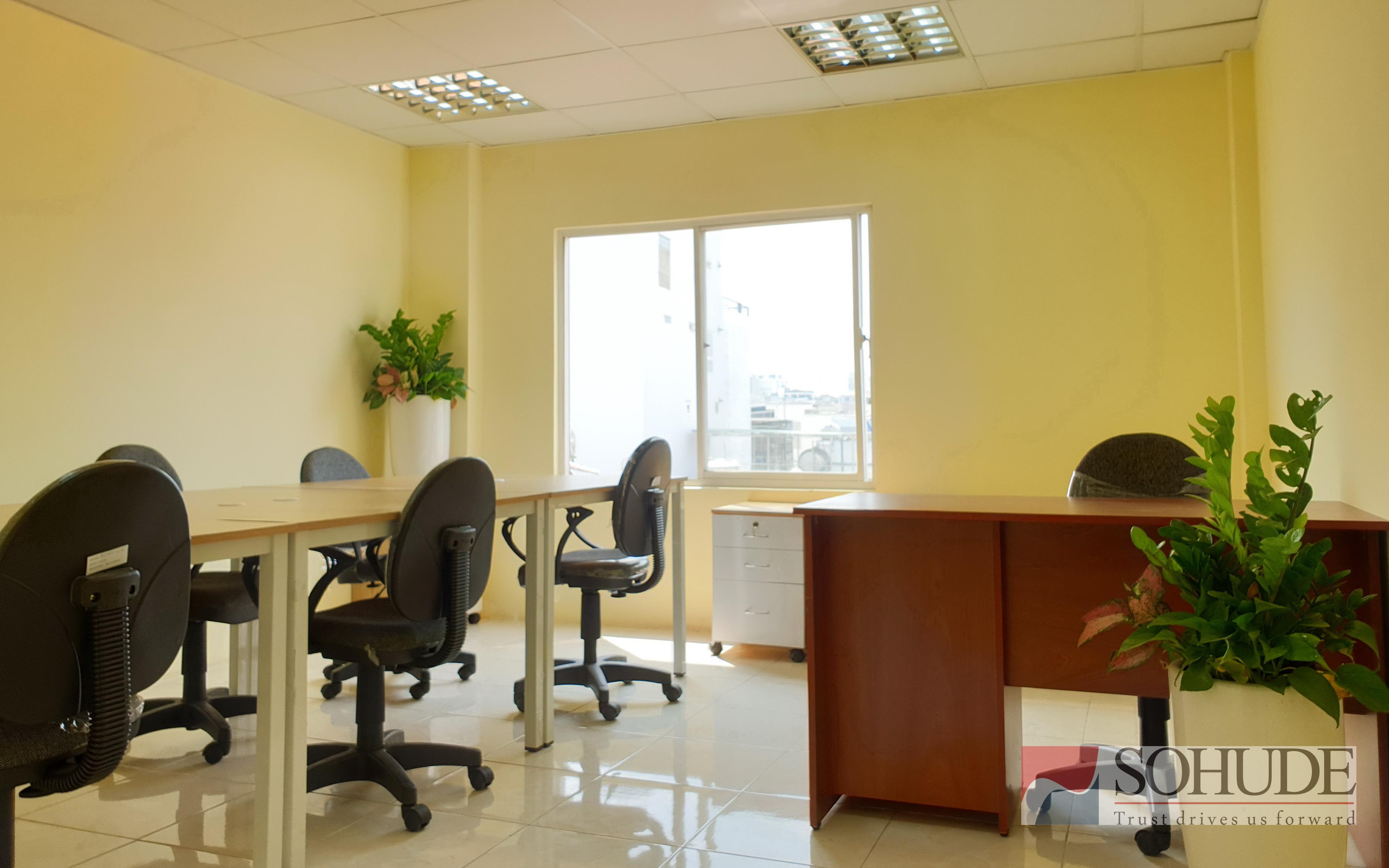 Văn phòng trọn gói Quận 3 19m2