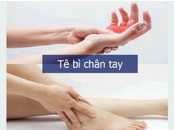 Đá muối Himalaya - giải pháp hữu hiệu khỏi triệu chứng tê bì tay chân.