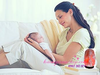 4 lý do phụ nữ sau sinh nên dùng đèn đá muối