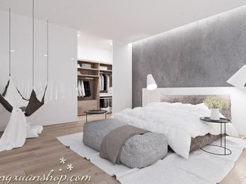 Cách tăng ánh sáng tự nhiên và bố trí đèn trong phòng ngủ hợp lý nhất