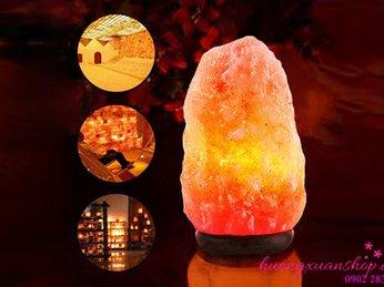 Thực hư về đèn đá muối giúp bảo vệ sức khỏe