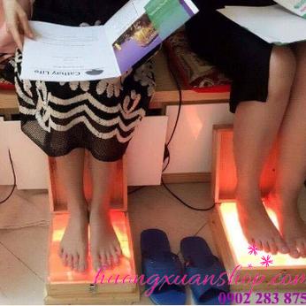 Đèn đá muối massage chân (mặt phẳng)