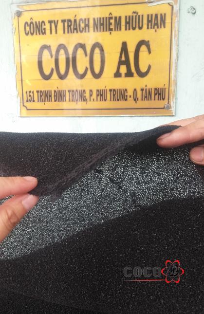 Vải than hoạt tính 5 mm