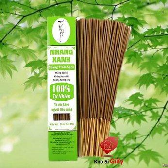 Nhang Xanh trầm hương [HỘP 70G] 100% thiên nhiên