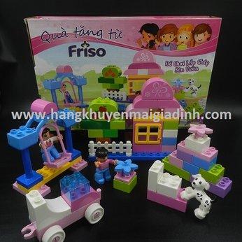 BỘ LEGO SÂN VƯỜN FRISO