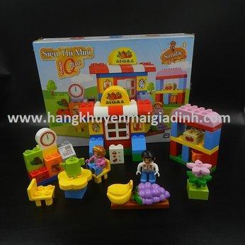 BỘ LEGO SIÊU THỊ MINI  SIMILAC