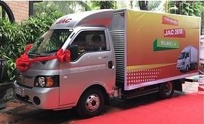 Xe tải JAC 990kg, 1.25 tấn, 1.5 tấn