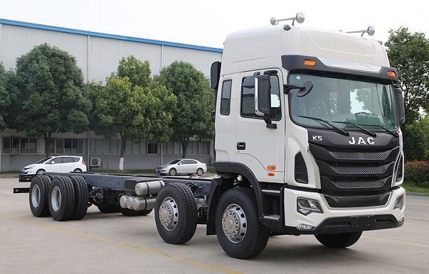 Xe tải JAC 4 chân 17,99 tấn 310HP GALLOP