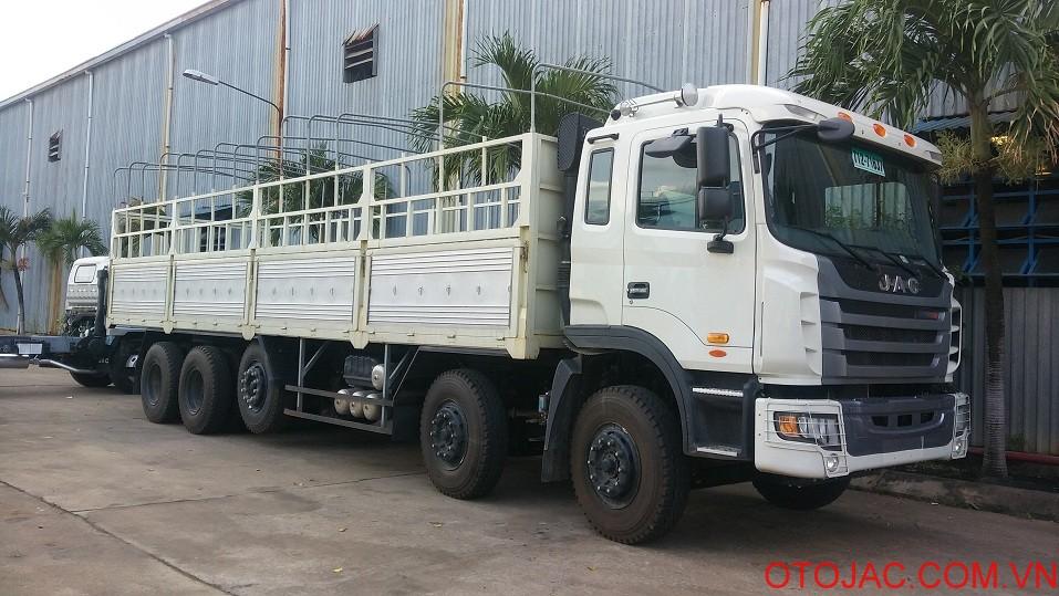 xe tải nặng jac 5 chân gallop 22 tấn