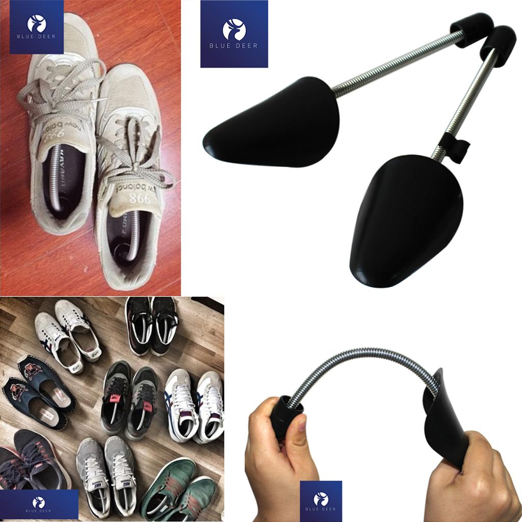 Shoe Tree - Cây Giữ Form Giày Nam Nữ Plastic Cao Cấp - BLUE DEER