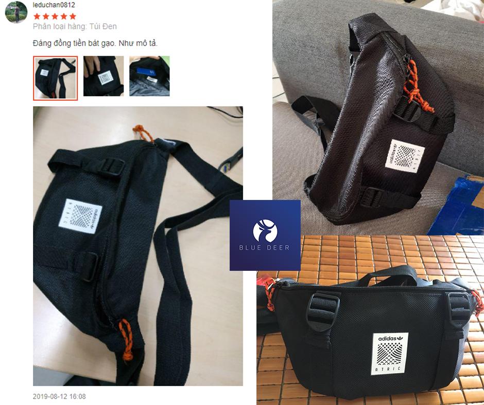 Túi Đeo Chéo Bao Tử Nam Nữ Adidas ATRIC BUM BAG