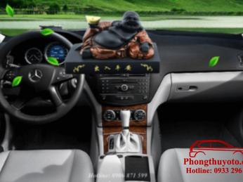 Tượng Phật để xe ô tô chất lượng được làm bằng chất liệu gì?