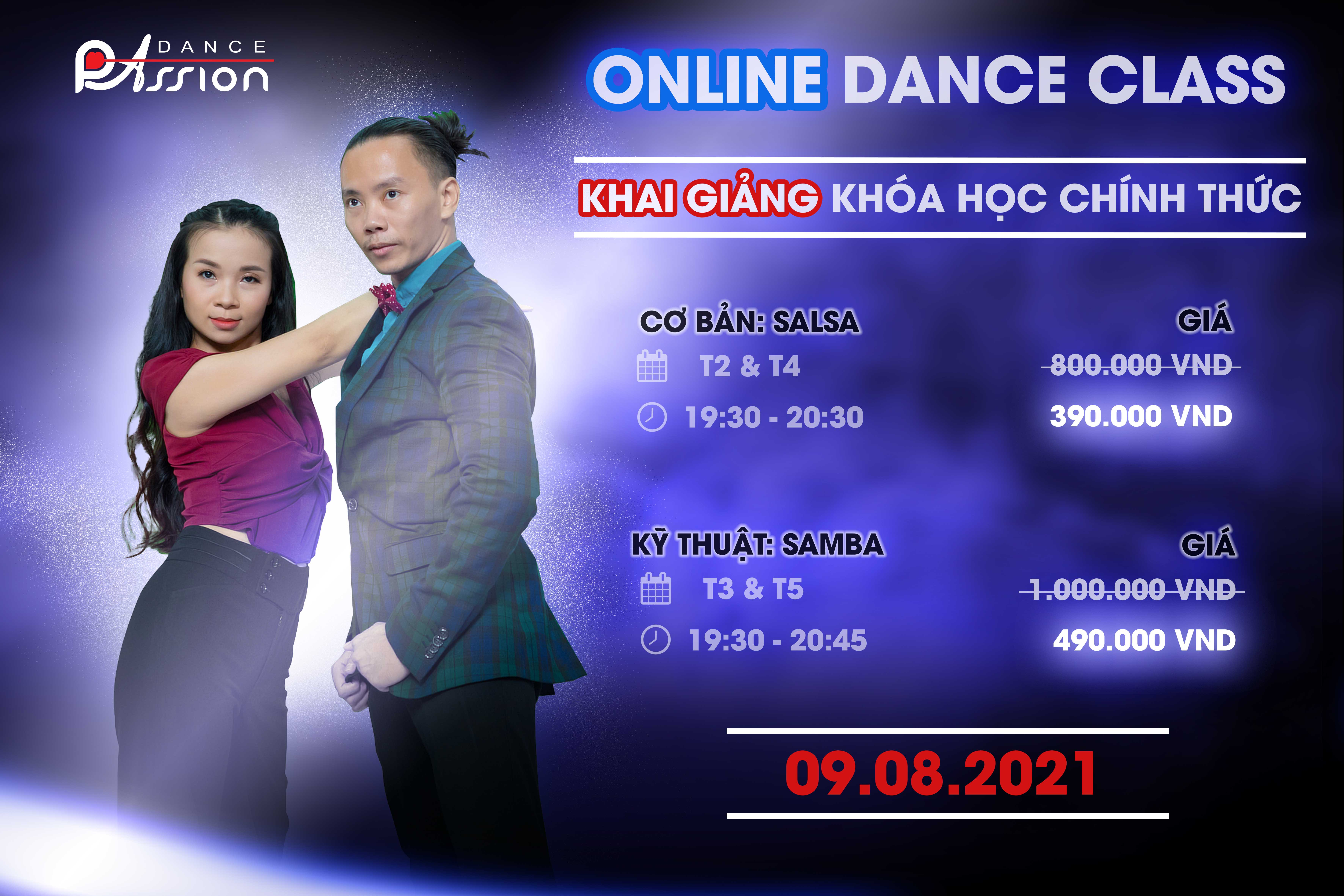 Lop khieu vu online - ONLINE DANCE CLASS