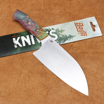 Dao Brisa Santoku 160mm Cán Gỗ Maple M01