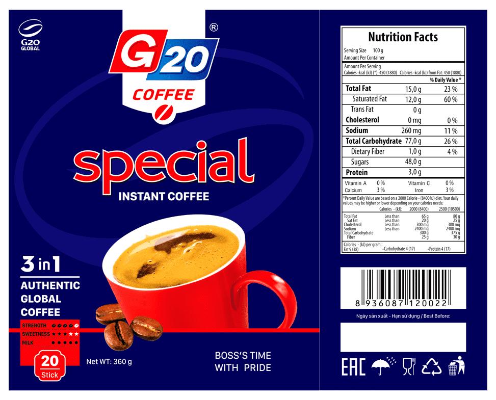 Cà phê hòa tan 3 in 1 - special