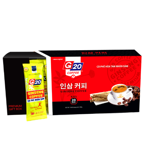 Ginseng coffee 4 in 1
