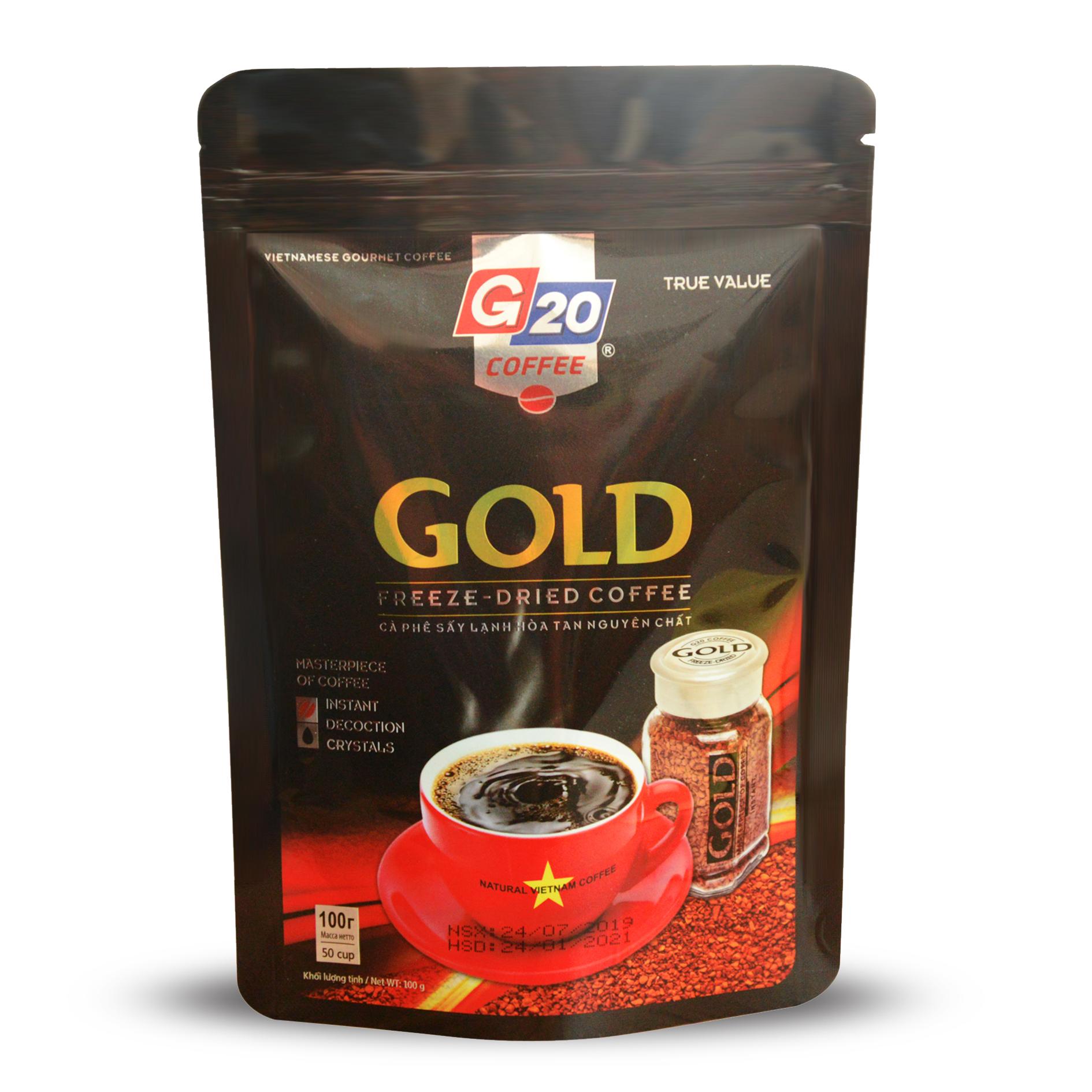 CÀ PHÊ SẤY LẠNH - GOLD