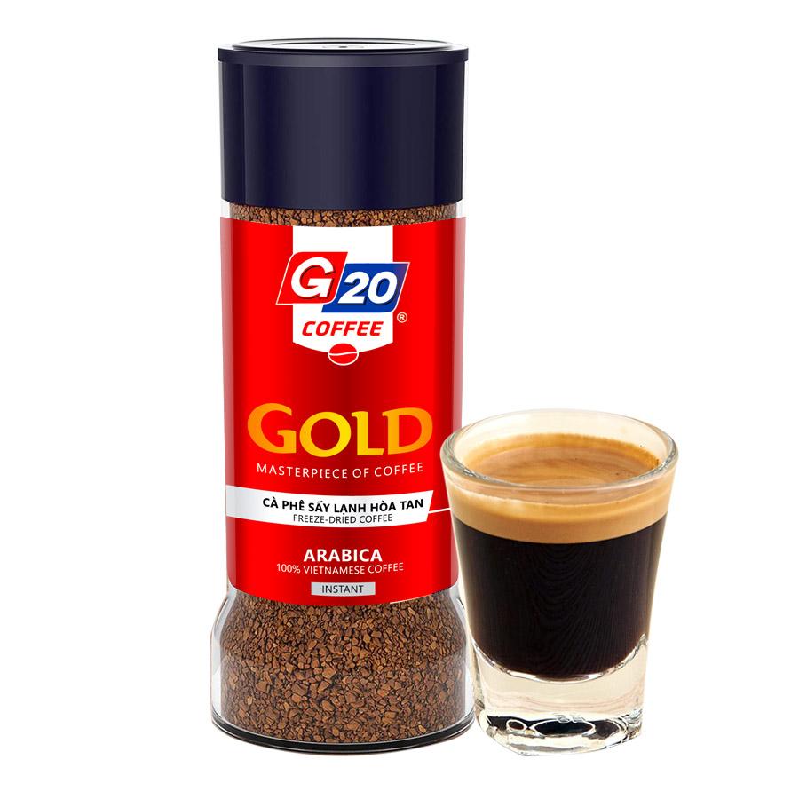Cà phê sáy lạnh nguyên chất 100% Arabica