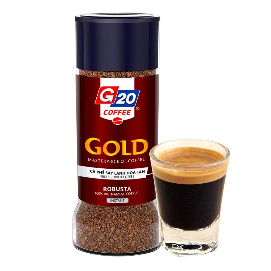 Cà phê sáy lạnh nguyên chất 100% Robusta