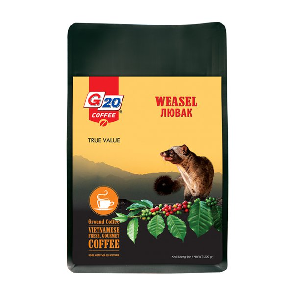 WEASEL COFFEE YELLOW