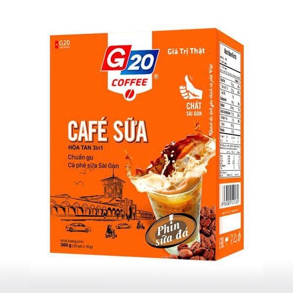 Cà phê  hòa tan 3in1 - Café sữa