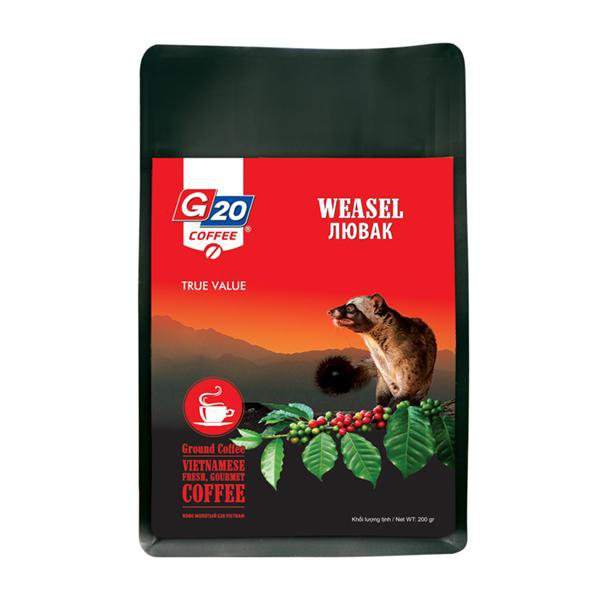 WEASEL COFFEE RED