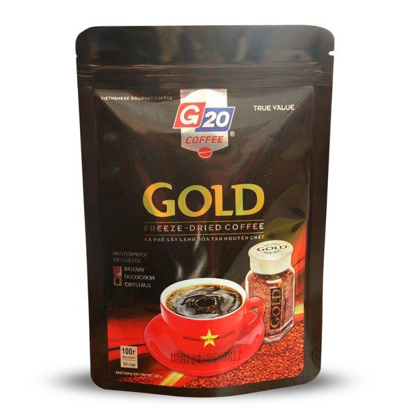 Cà phê sấy lạnh nguyên chất Mix Gold