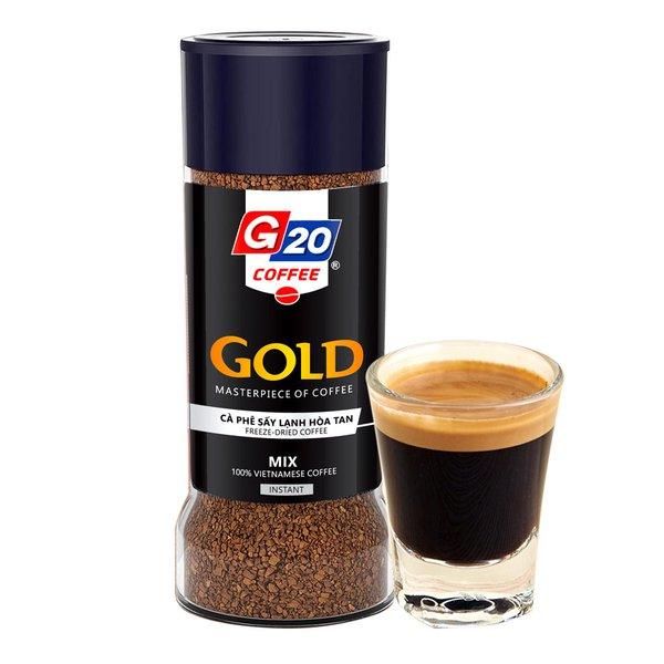 Cà phê sáy lạnh nguyên chất mix