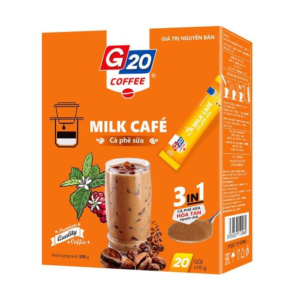 Cà phê  sữa hòa tan  3in1