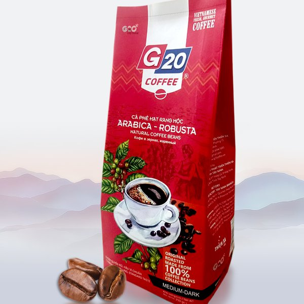 Rustic roasted coffee bean - Mix 2