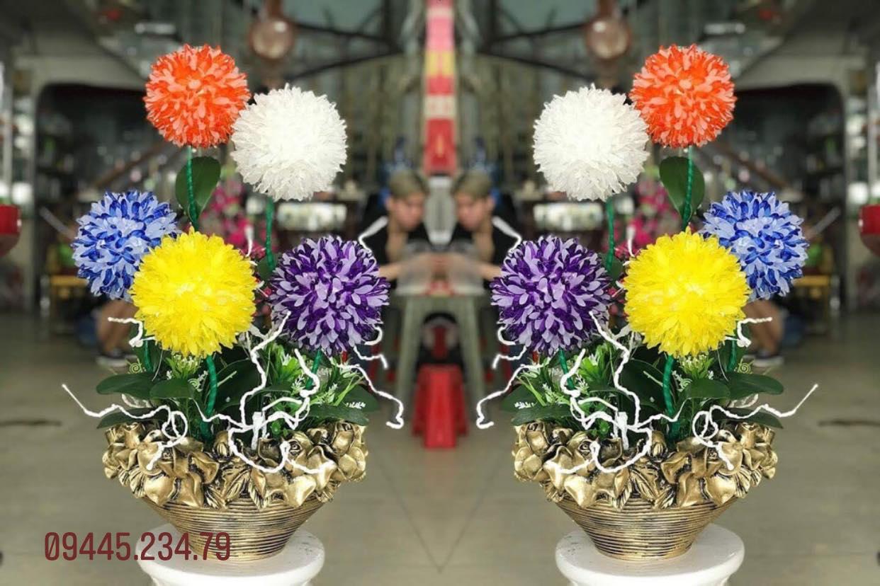 Hoa Cẩm Tú Cầu Ngũ Sắc/Nhã Đan Shop