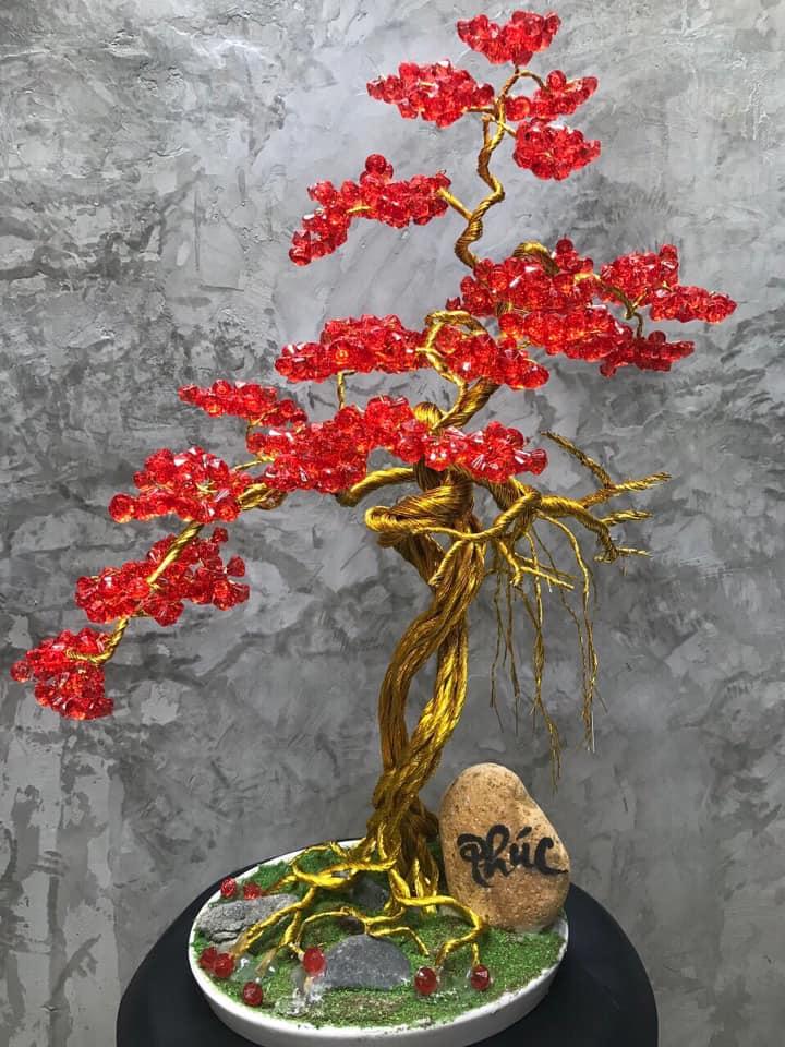 Hoa Pha Lê Dáng Bonsai/Nhã Đan Shop