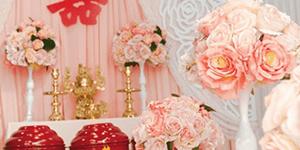 Một số lưu ý khi chọn hoa để bàn thờ gia tiên đám cưới